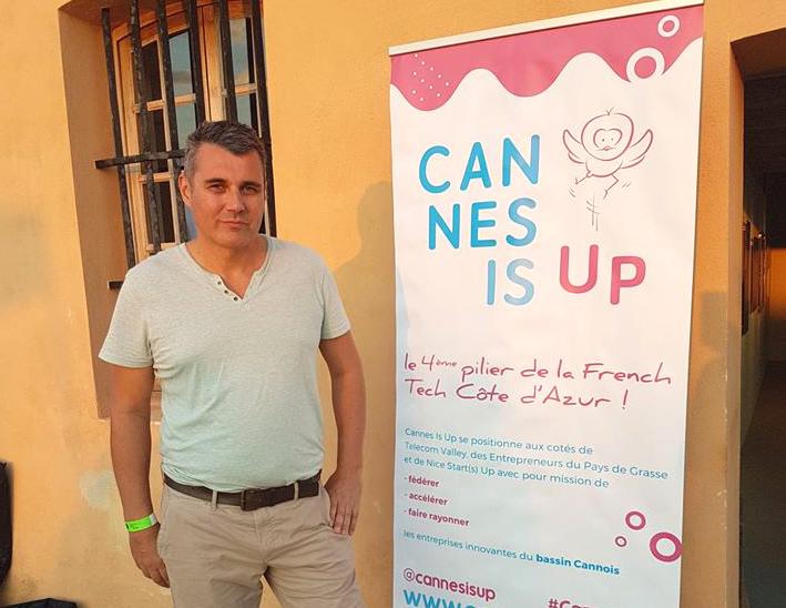 #cannesisup avec la #frenchtech Côte d'Azur