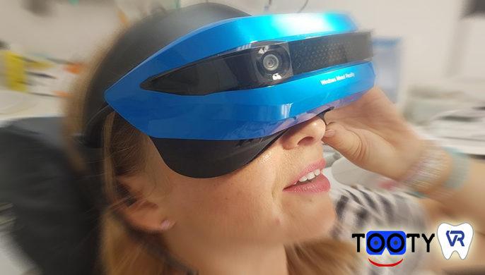 La Réalité Virtuelle au cabinet dentaire