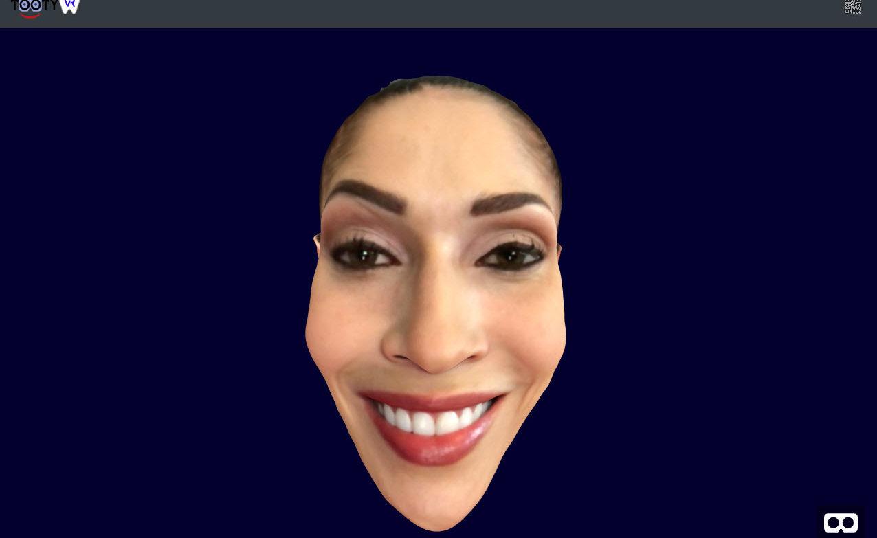 Scan du visage en Réalité Virtuelle