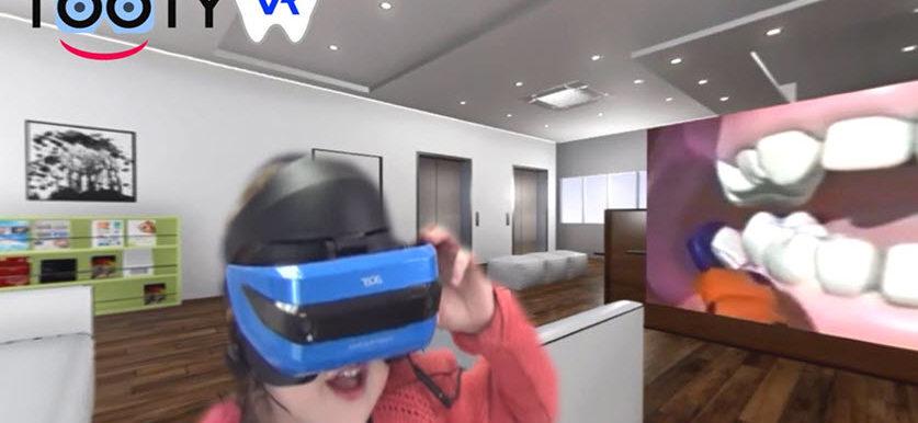 Motiver les enfants au brossage des dents par la Réalité Virtuelle