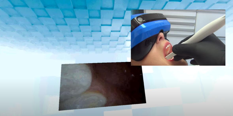 La salle VR d'examen dentaire version 2021